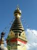 Buddhistischer Stupa Swayambunath Harmika