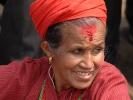 Nepalesische Frau