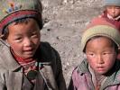 Nepalesische Tamang Kinder